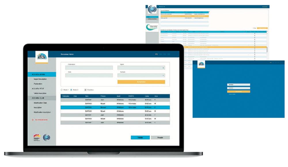 La plateforme digitale WEB pour l'EFCS