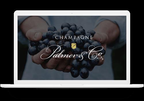Module de télédéclaration des récoltes, Champagne Palmer & Co